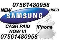 Wanted iPhone & Samsung Working CASH PAID NOW