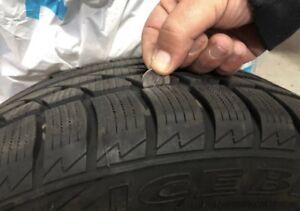 205/50/17 hankook 2 winter tires