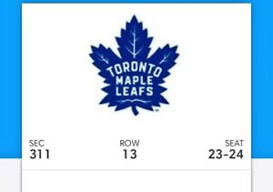 Game 6 Leafs tickets!