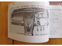 Meriva Handbook (Manual) 2010-2014