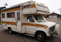 1977 Ford Security Motorhome 21 ft