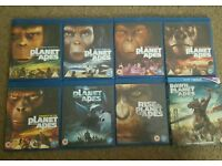 Planet of the apes blurays