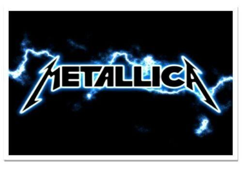 Metallica Heavy Metal Rock Band Refrigerator Locker Magnet 40 Mil Thick