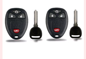 2 new key fobs for GMC, Cadillac, Buick or Chevrolet
