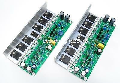 Assembled 2pcs L15 Mosfet Amplifier Board With Angle Aluminum Irfp240 Irfp9240