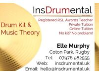 Drum Kit and Music Theory Lessons in Rugby