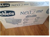 Chicco Next to me Crib / Cot brand new
