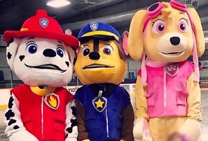 Paw Patrol Mascot Rental Cambridge Kitchener Area image 1
