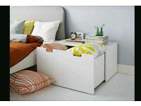 IKEA Storage Bench STUVA White