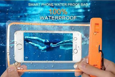WATERPROOF PHONE BAG FOR iPHONES, SAMSUNGS, ANDROID BEST QUALITY! 100% (Best Phone For 100)