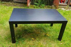 Black coffee table (X4)