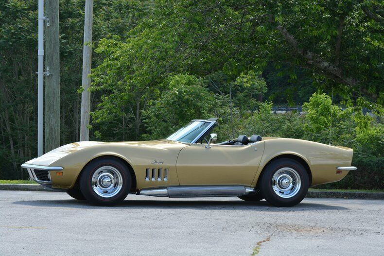 1969 Gold Chevrolet Corvette Convertible  | C3 Corvette Photo 10