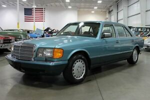 JDM or low km domestic Mercedes W126  560SEL 420SEL 560SEC