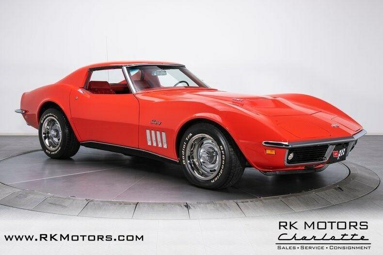 1969 Red Chevrolet Corvette   | C3 Corvette Photo 7