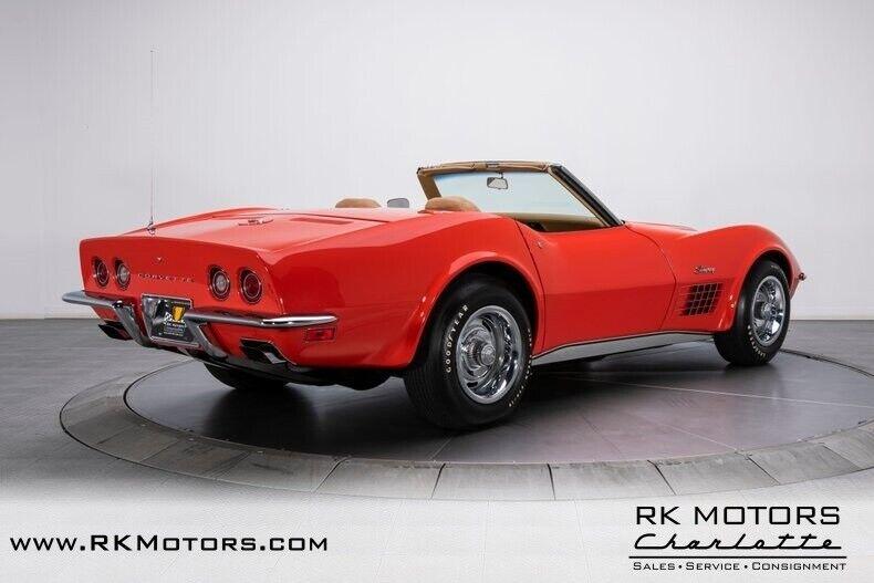 1970 Red Chevrolet Corvette  1LT   C3 Corvette Photo 2