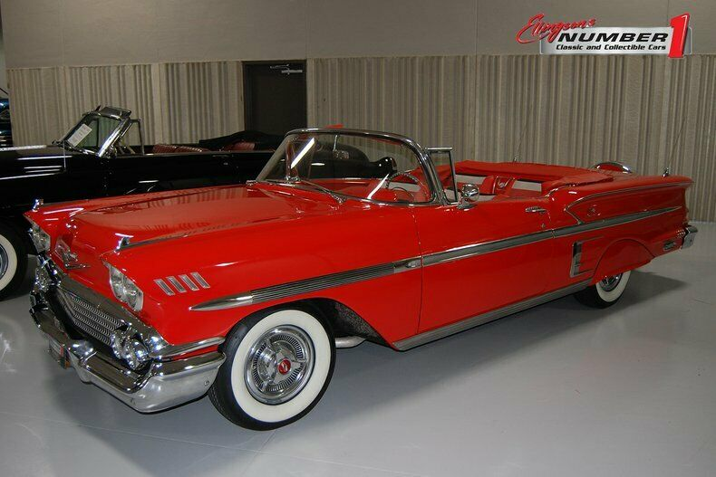 1958 Chevrolet Impala Convertible - Ellingson Motorcars