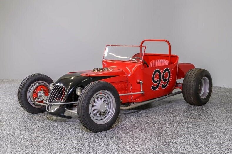 1923 Ford Other Track T Tribute 1923 Ford Roadster Track T Tribute 0 Red Roadster V8 Flathead 3-Spd Manual