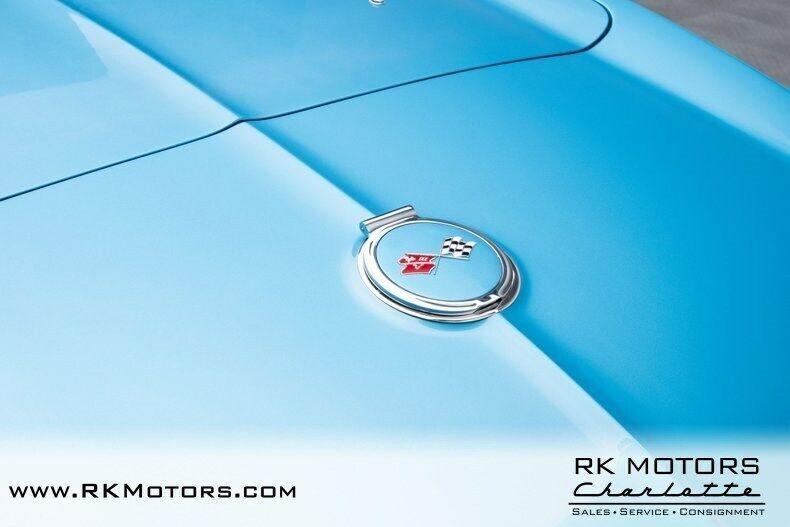1967 Blue Chevrolet Corvette   | C2 Corvette Photo 7