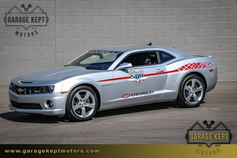 2010 Chevrolet Camaro SS Pace Car Silver Coupe 6.2L V8 719 Miles