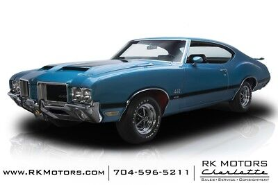 1971 442 W-30 1971 Oldsmobile 442 W-30 17039 Miles Viking Blue Hardtop 455 V8 4 Speed Manual