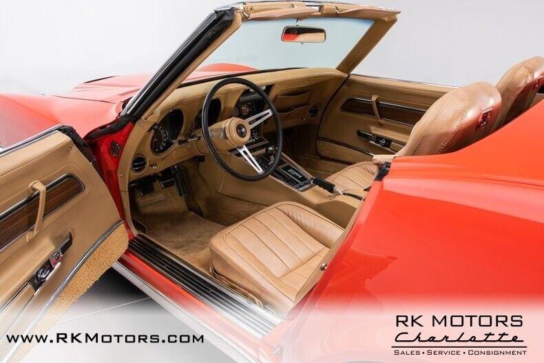 1970 Red Chevrolet Corvette  1LT   C3 Corvette Photo 3