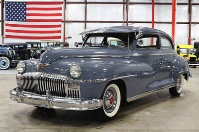 1947 DeSoto Deluxe -- 1947 DeSoto Deluxe  97595 Miles Butterfly Blue Coupe 235 6cyl Semi Automatic