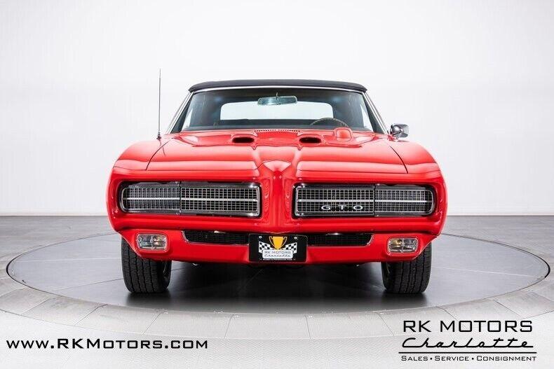 Image 20 Voiture Américaine de collection Pontiac GTO 1969