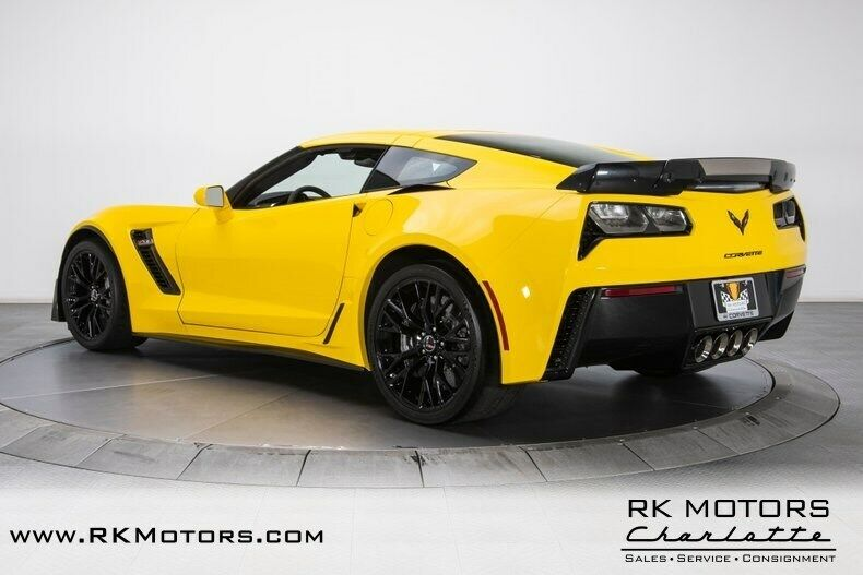 2015 Yellow Chevrolet Corvette Z07 3LZ | C7 Corvette Photo 10