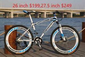 Brand New multi-color 26&27.5 inch shimano 21 sp  bike Eastwood Ryde Area Preview