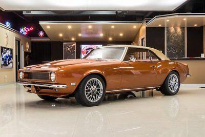 1968 Orange Chevrolet Camaro  Pro Touring | First Generation Camaro Photo 1