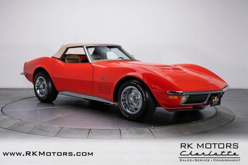 1970 Red Chevrolet Corvette  1LT   C3 Corvette Photo 10