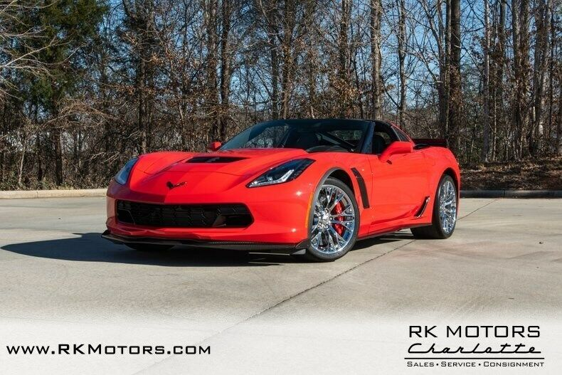 2015 Red Chevrolet Corvette Z07 3LZ | C7 Corvette Photo 3