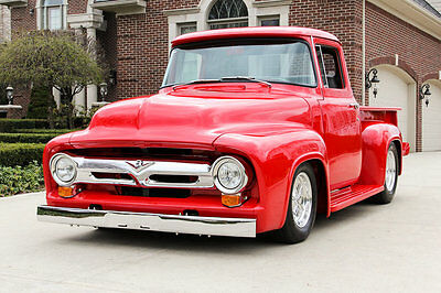 Ford : Other Pickup 56 ford f 1 custom frame off restored automatic street rod high end build steel