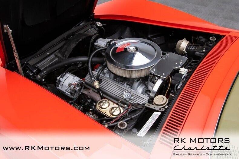 1970 Red Chevrolet Corvette  1LT   C3 Corvette Photo 4