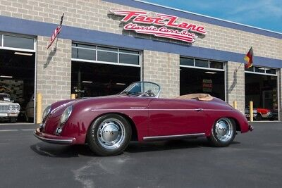 1957 Porsche 356 Ask About Free Shipping! 1957 Beck Speedster Rare Color 1,955cc Flat Four Cylinder