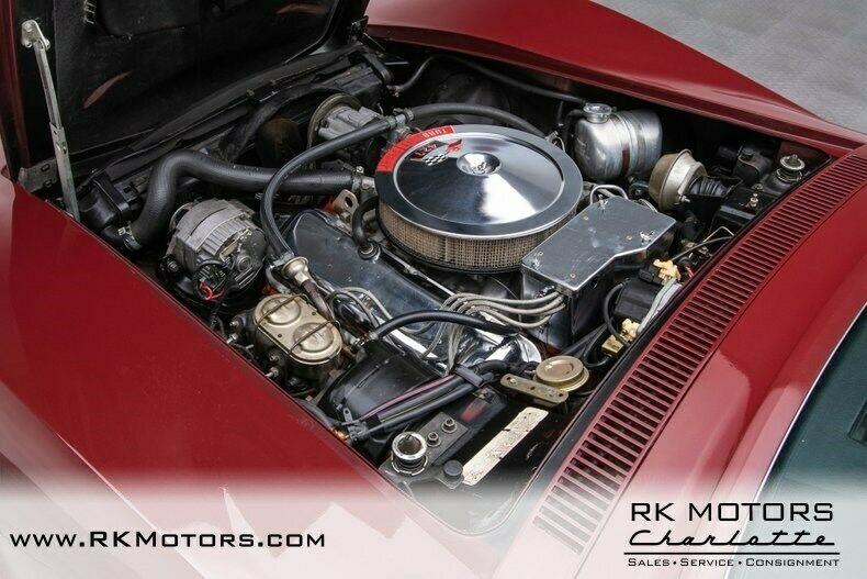 1969 Burgundy Chevrolet Corvette   | C3 Corvette Photo 4