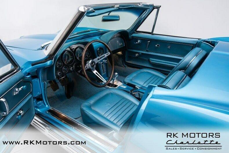 1967 Blue Chevrolet Corvette   | C2 Corvette Photo 5
