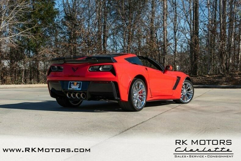 2015 Red Chevrolet Corvette Z07 3LZ | C7 Corvette Photo 4
