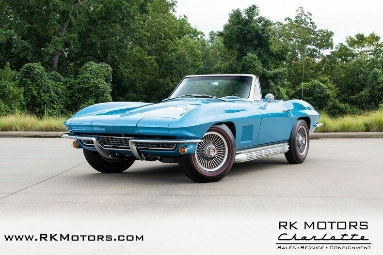 1967 Blue Chevrolet Corvette   | C2 Corvette Photo 3