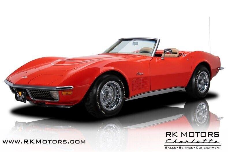 1970 Red Chevrolet Corvette  1LT   C3 Corvette Photo 1