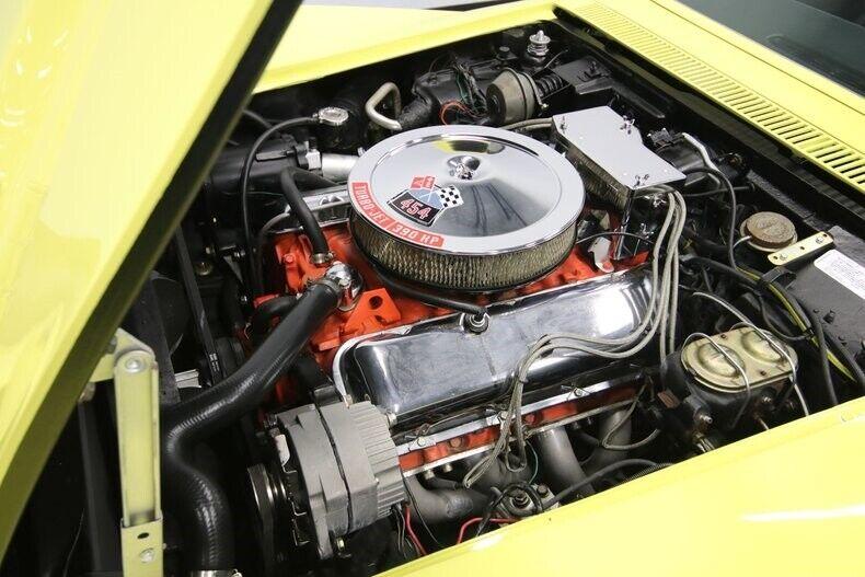 1970 Yellow Chevrolet Corvette Convertible  | C3 Corvette Photo 4