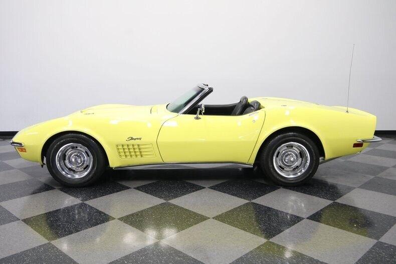 1970 Yellow Chevrolet Corvette Convertible  | C3 Corvette Photo 8