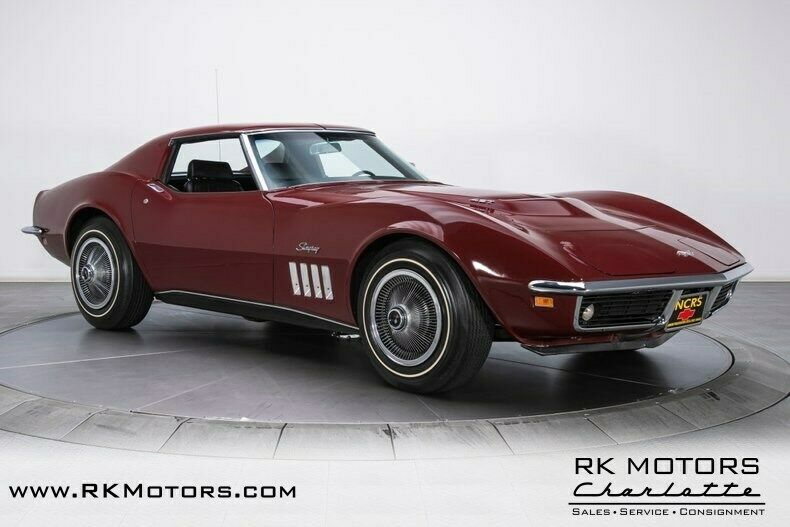 1969 Burgundy Chevrolet Corvette   | C3 Corvette Photo 7