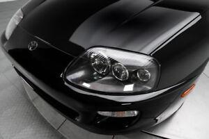 GENUINE TOYOTA 1993-1998 Supra Headlights Set BLACK LEFT RIGHT JZA80 MK4 OEM