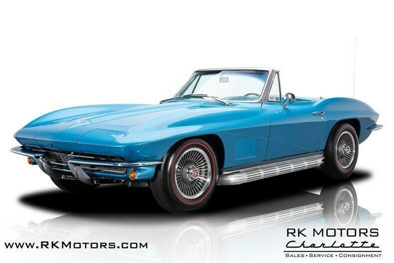 1967 Blue Chevrolet Corvette   | C2 Corvette Photo 1