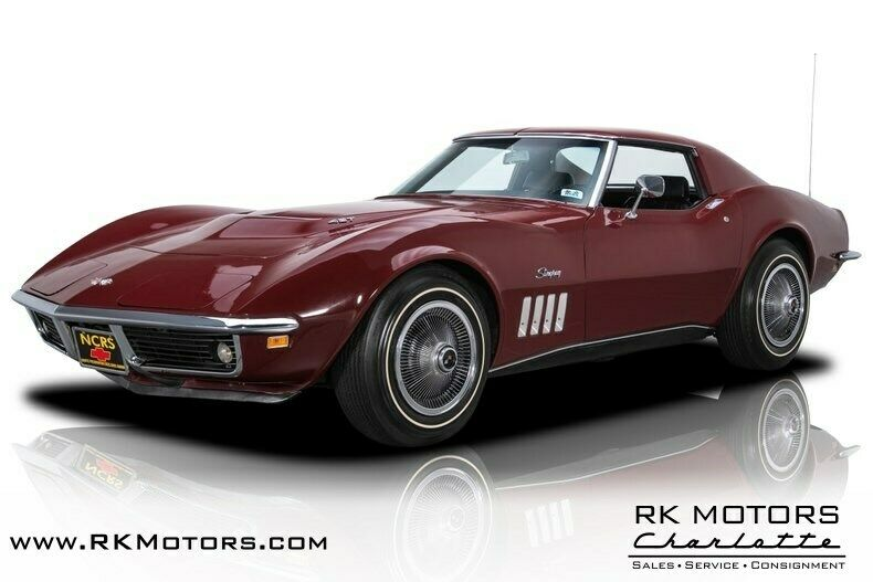 1969 Burgundy Chevrolet Corvette   | C3 Corvette Photo 1