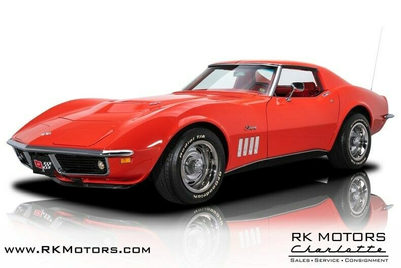 1969 Red Chevrolet Corvette   | C3 Corvette Photo 1