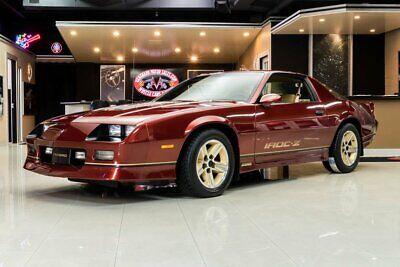 1987 Red Chevrolet Camaro  IROC Z28 | Third Generation Camaro Photo 1