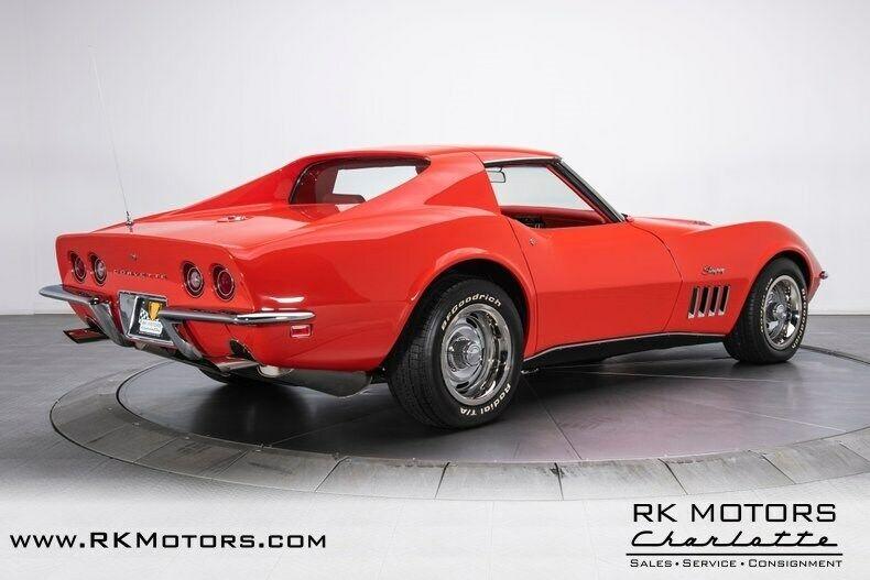1969 Red Chevrolet Corvette   | C3 Corvette Photo 2