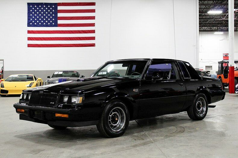 1987 Buick Grand National  69245 Miles BLACK Coupe 3.8L V6 Automatic